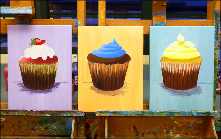 Colorful Cupcakes...